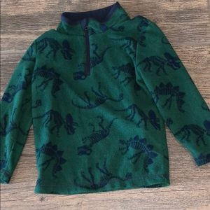 Other - Dinosaur soft fleece pull over